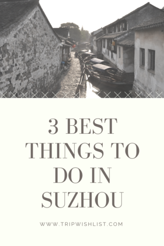 Things to do in Suzhou