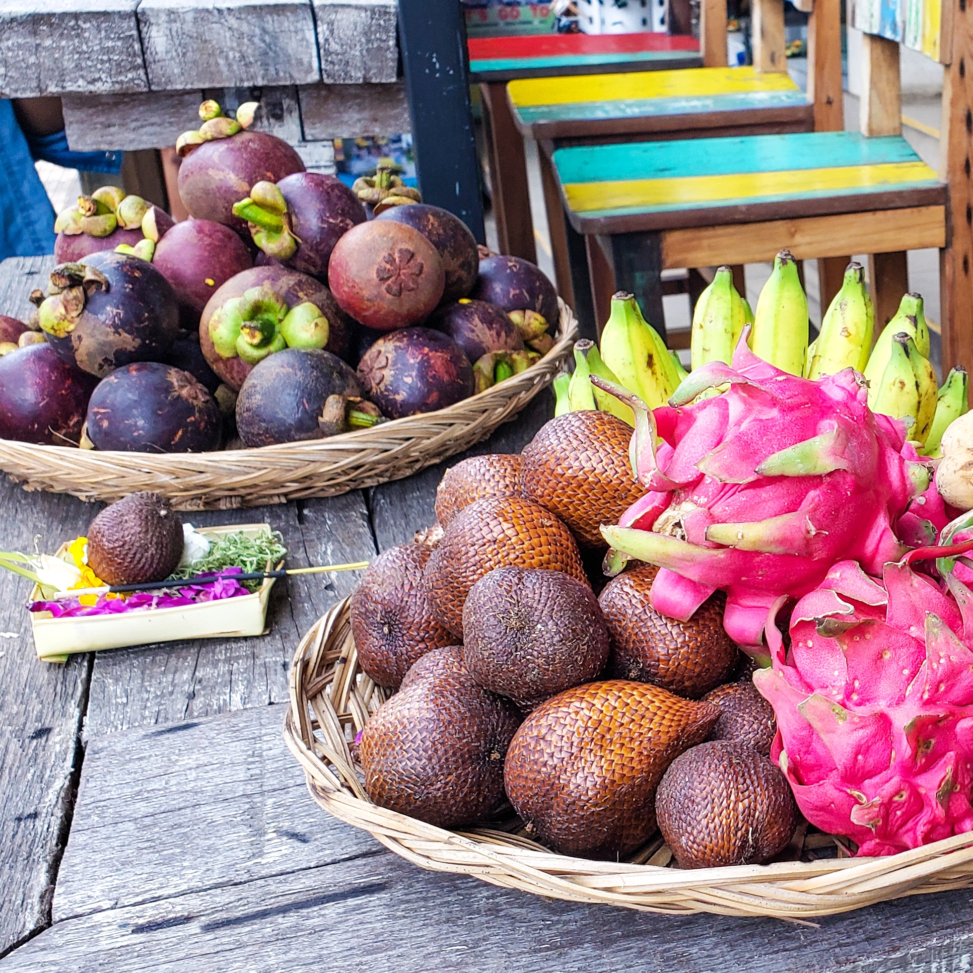 Tropical fruits - Best food in Bali