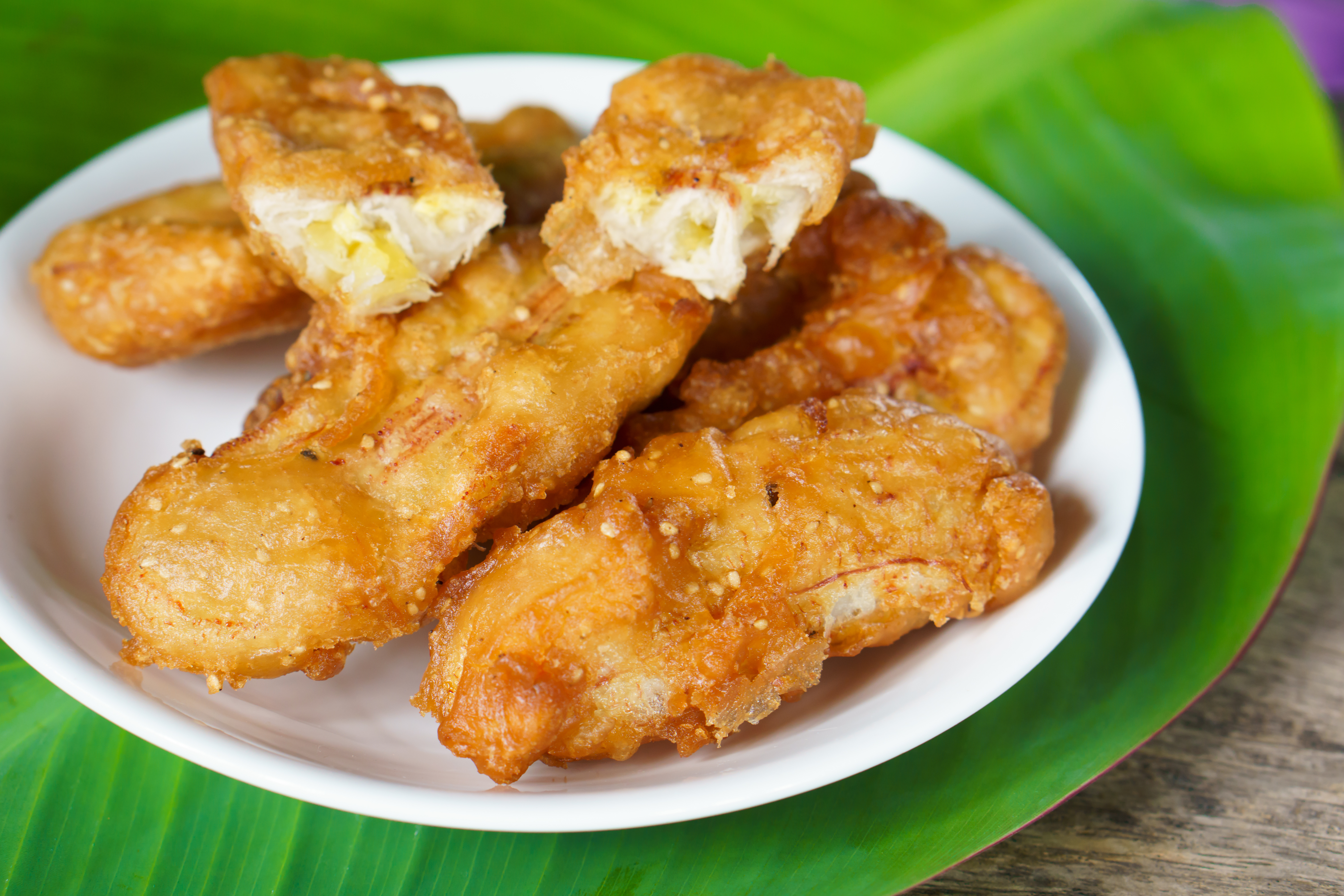 Banana Fritters - Best food in Bali