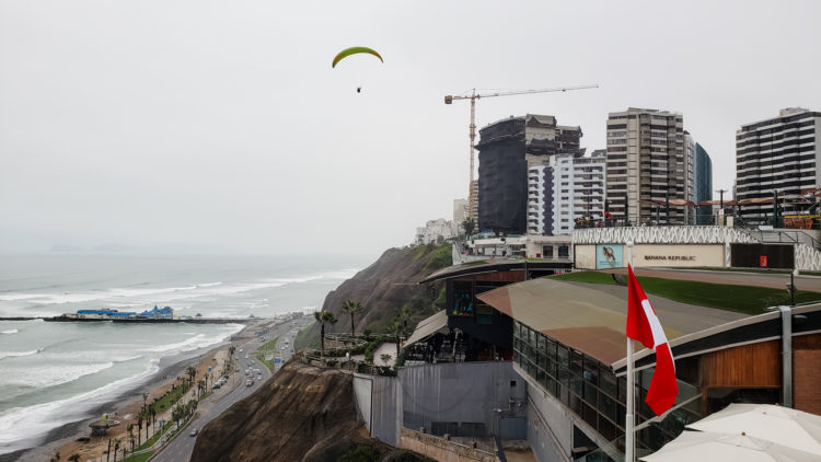 View of Miraflores neighborhood in Lima - The Best 7-Day Machu Picchu Itinerary