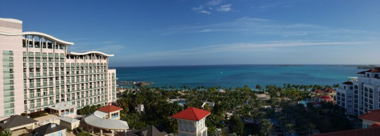 View from Grand Hyatt - Planning a Bahamas Family Vacation