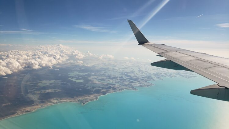 In flights - Planning a Bahamas Family Vacation