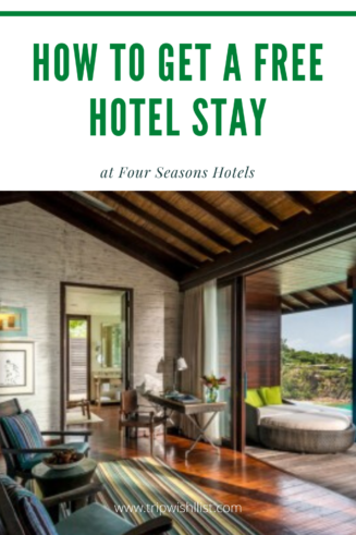 Four Seasons Free Hotel Stay