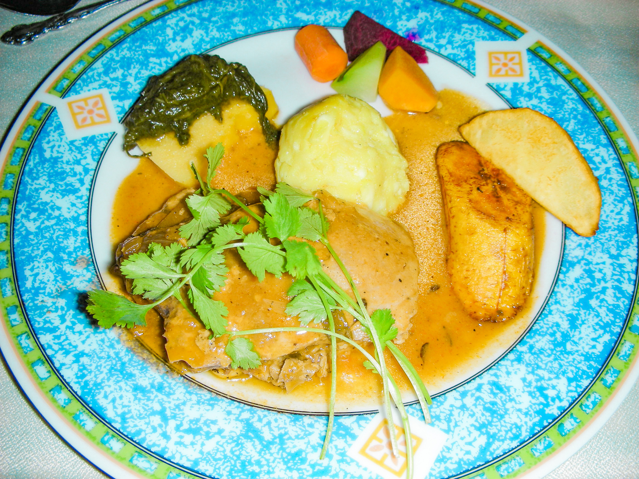 Local Grenadian Meal - Best Food in the Caribbean