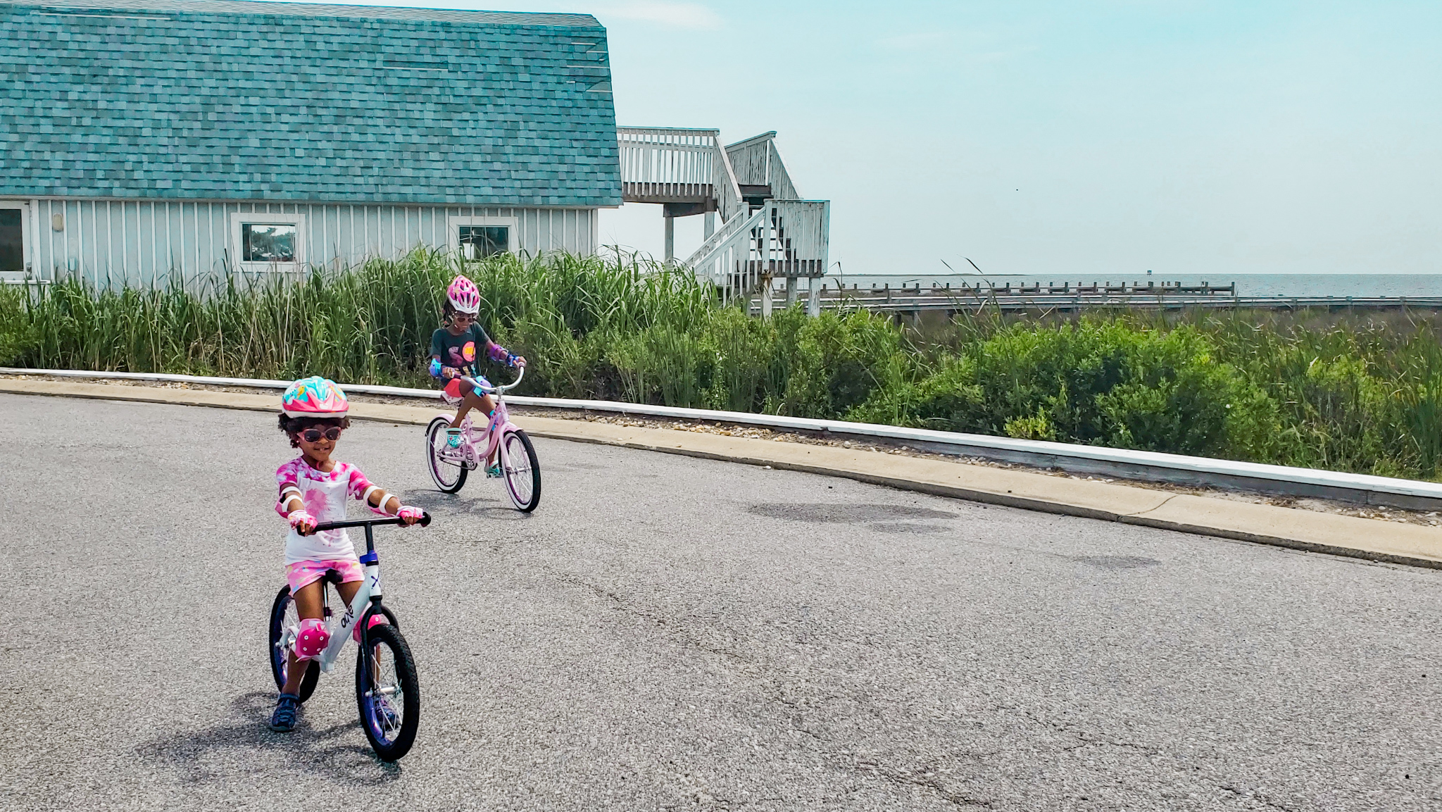 Cycling at Outer Banks Beach