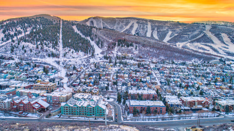 Park City - Best winter destinations in the US