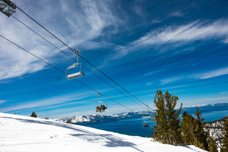 Lake Tahoe - Best Winter Destinations in the US